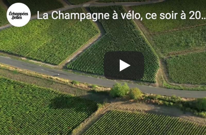 Echappées belles France 5 - La Champagne à vélo
