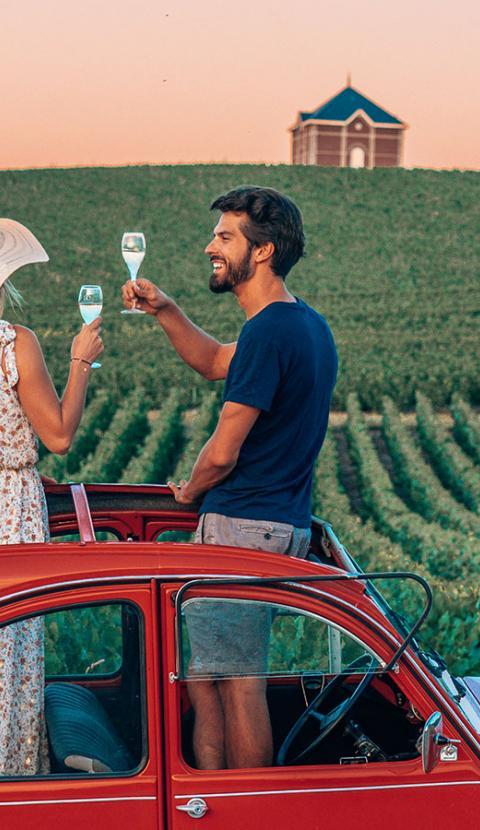 Balade romantique en Champagne