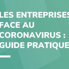 Les entreprises face au coronavirus