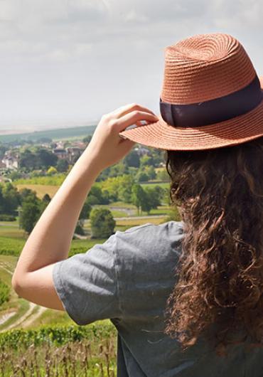 Vue sur Sézanne