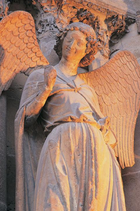 Ange au sourire - Cathédrale de Reims