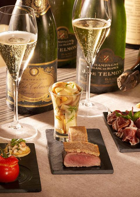 Dégustation - Champagne de Telmont - Damery