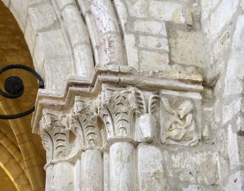 Détail église de Lagery