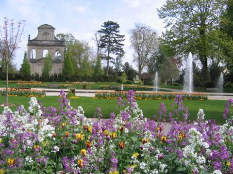 Jardin de l'hôtel de ville - Vitry