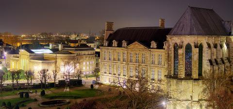 Palais du Tau & Bibliothèque Carnégie - Reims