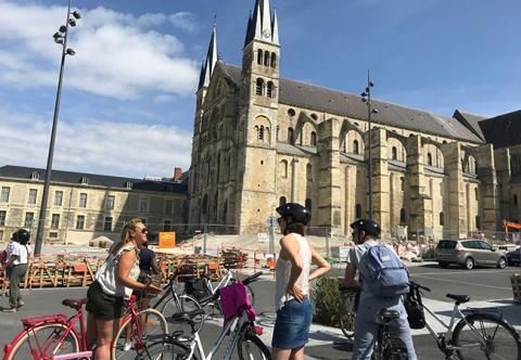 Reims à vélo