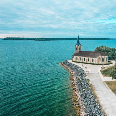 Lac du Der - Eglise de Champaubert
