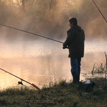 Pêche dans la Marne
